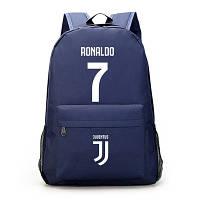 Рюкзак футбольный клуб Juventus Ronaldo 7 темно-синий, фото 1