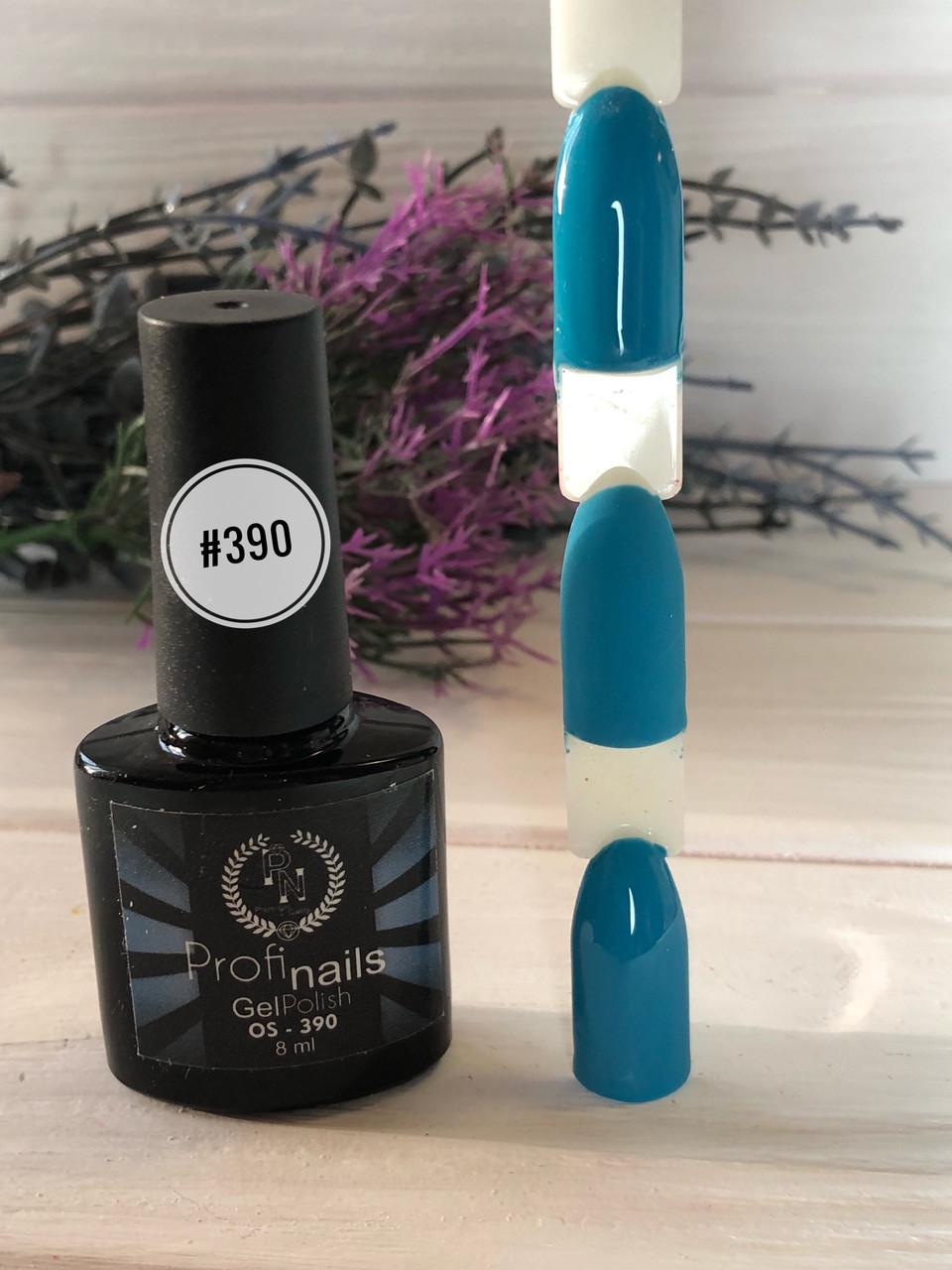 Гель лак каучуковый 8мл Profi nails # 390