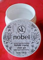 Моделирующий прозрачный гель Нобель Builder Crystal Clear gel Nobel - 14мл.