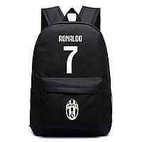 Рюкзак спортивный Ronaldo 7 FC Juventus черный, фото 1