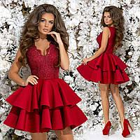 d159e40f68f Скидки на Коктейльное платье бордового цвета в Украине. Сравнить ...