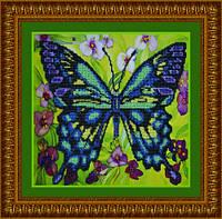 """Набор для вышивания бисером """"Синяя бабочка"""" Р-008"""