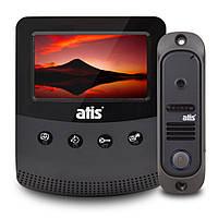 Комплект видеодомофон и вызывная панель ATIS AD-430B Kit box