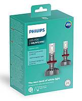 Комплект светодиодных LED ламп PHILIPS H11 ULTINON LED +160%