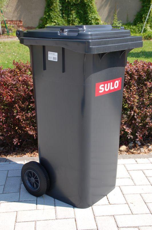 Мусорный бак для ТБО 120л SULO (Германия)
