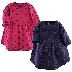 """Набор два платья на 2 года """"Gold Link"""" Yoga Sprout (США)"""