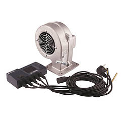 "🇵🇱 Комплект автоматики котла до 35 кВт (блок+вентилятор) ""KG"" Арт. CS-20+DP-02"