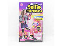 Микрофон на подставке, муз., звук, свет, MP3, батар., в кор.25,5*43*8,5см(60шт)