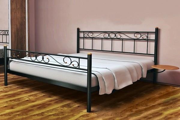 Кровать металлическая Эсм ТМеральда 2 120х190 см ТМ Метакам