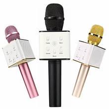 Беспроводная портативная колонка + караоке микрофон 2 в 1 Q7