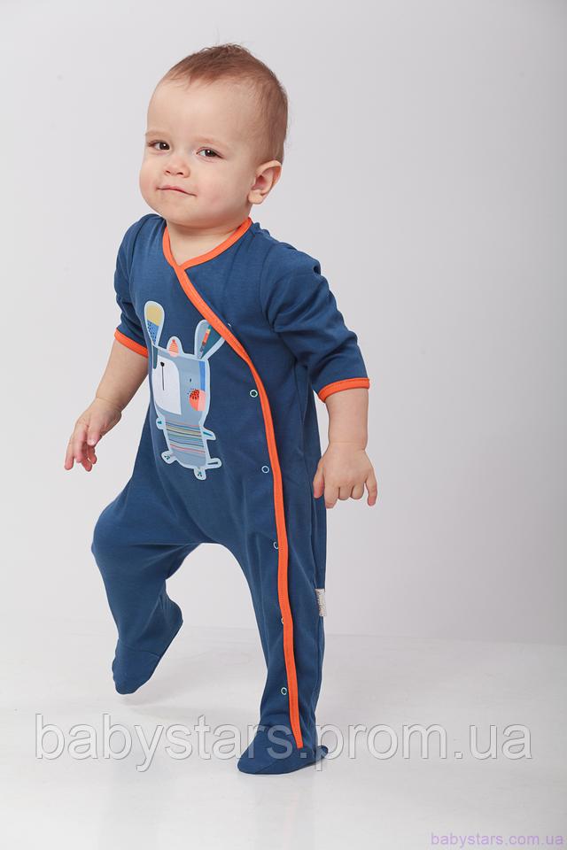 фото малыша в слип-человечке