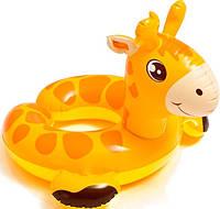 Надувной круг жилет для купания детский