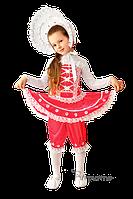 Детский карнавальный костюм КУКЛА С КАПОРОМ код 262