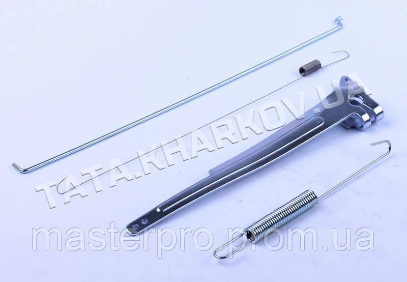 Рычаг привода дроссельной заслонки (с тягой и пруж.) - 177F