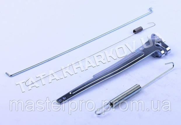 Рычаг привода дроссельной заслонки (с тягой и пруж.) - 177F, фото 2