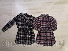 Платье - рубашка байковое для девочек Glo-Story 98-128 p.p.