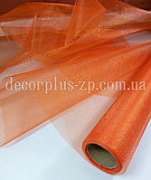 Органза оранжевая, 70см