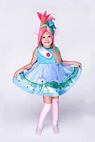 """Детский карнавальный костюм Тролль Розочка """"Малышка"""" код 1228"""