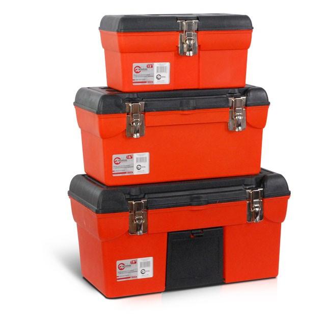 Комплект ящиків для інструментів з металевим замком INTERTOOL BX-0006