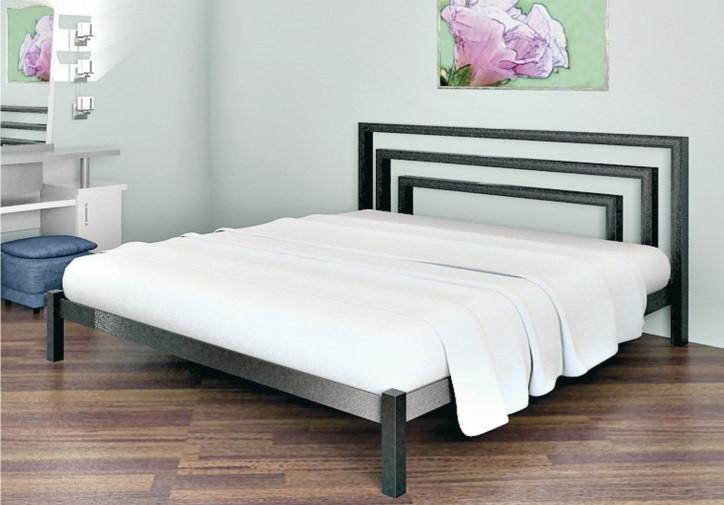 Кровать металлическая Brio 1 90х190 см ТМ Метакам