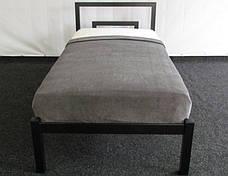 Кровать металлическая Brio 1 90х190 см ТМ Метакам, фото 2