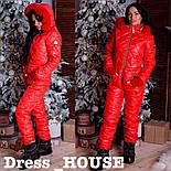 Женский теплый зимний лыжный комбинезон (4 цвета), фото 10
