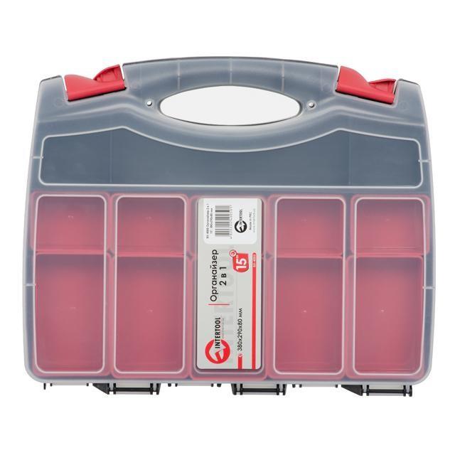 Органайзер пластиковый INTERTOOL BX-4005