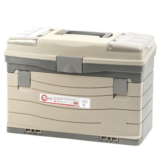 Органайзер пластиковий багатофункціональний INTERTOOL BX-4017