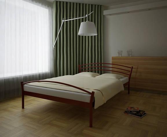 Кровать металлическая Marko 2 80х190 см ТМ Метакам, фото 2