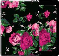 "Чехол на iPad Pro 9.7 Розы на черном фоне ""2239u-363-16132"""
