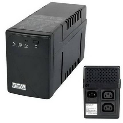 ИБП (UPS) PowerCom BNT-600AP Black, 600VA, фото 2