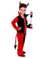 Карнавальный костюм Чертенок для мальчика, костюм на хэллоуин