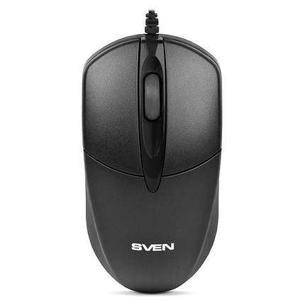 Мышь SVEN RX-112 (black) OPTiC, USB, 1 Wheel, 800cpi, мышка, фото 2