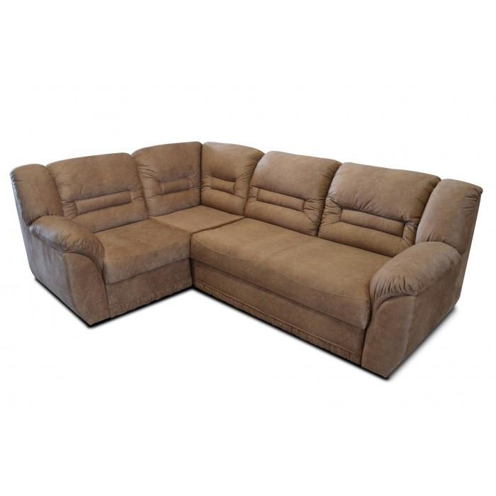 Угловой диван Хаммер 3.05 кофе ( вестерн 04) Элизиум