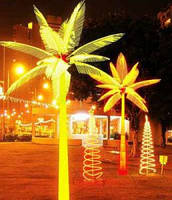 Neo-Light Светодиодная LED пальма Neo-Light (желтая) 2 метра