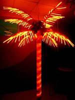 Neo-Light Светодиодная LED пальма Neo-Light (оранжевая) 3 метра