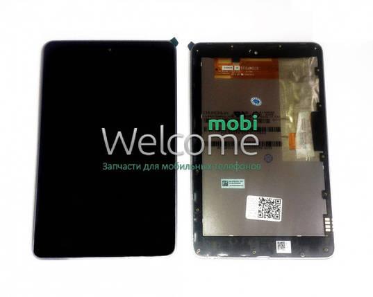 Модуль Asus Nexus 7 google,me370 black  (оригинал) с рамкой 1 поколение (2012) дисплей экран, сенсор тач скрин для планшета, фото 2