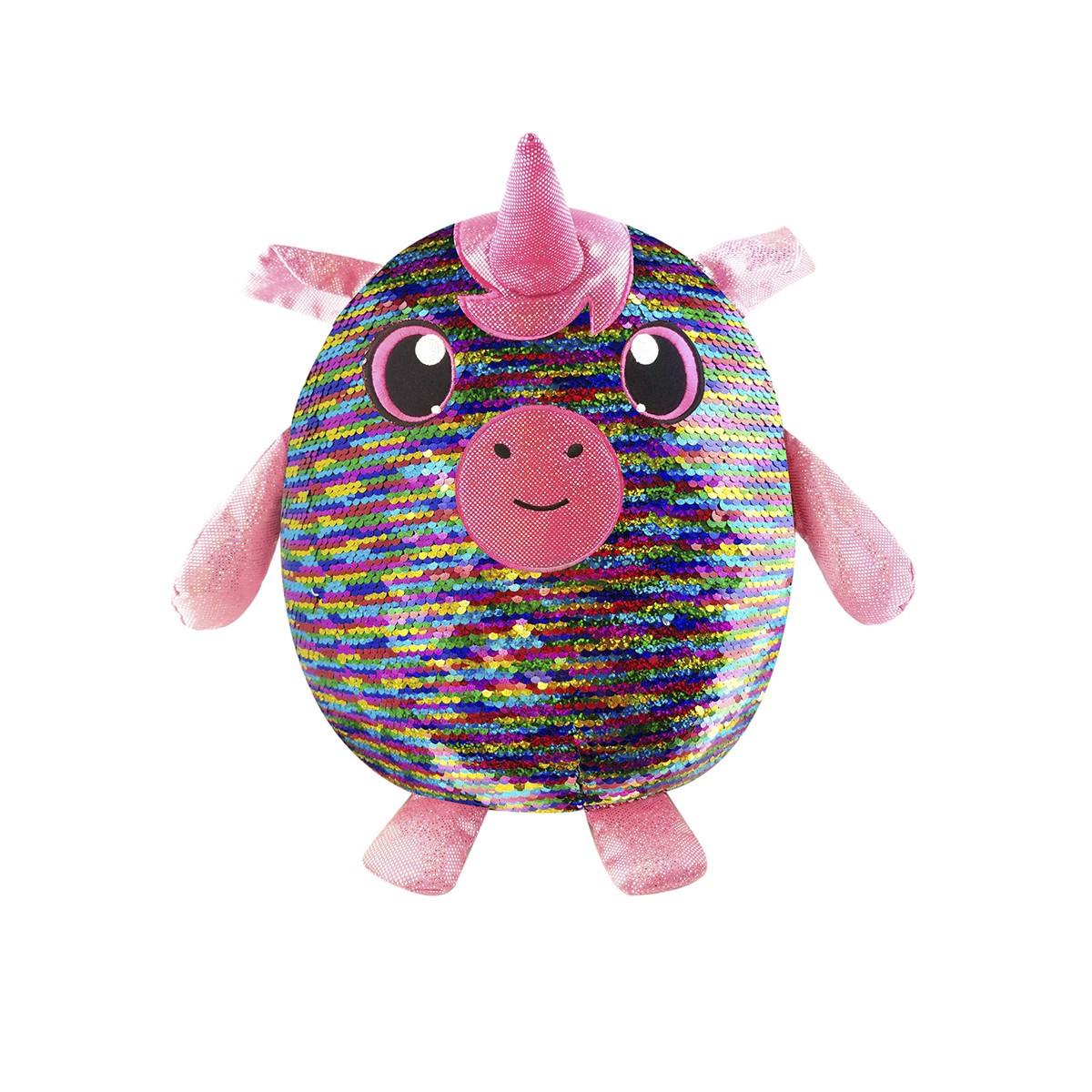 М'яка іграшка з паєтками Shimmeez Чарівний єдиноріг 20 см