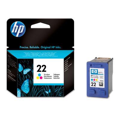 Картридж HP №22 (C9352AE), Color (Цветной), DJ 3920/PSC1410, OEM