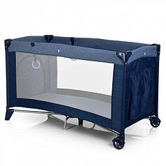 Манеж детский El Camino ME 1016-4 SAFE Blue (003383)