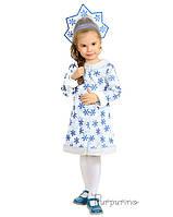 Детский карнавальный костюм Снегурочки Код 91371