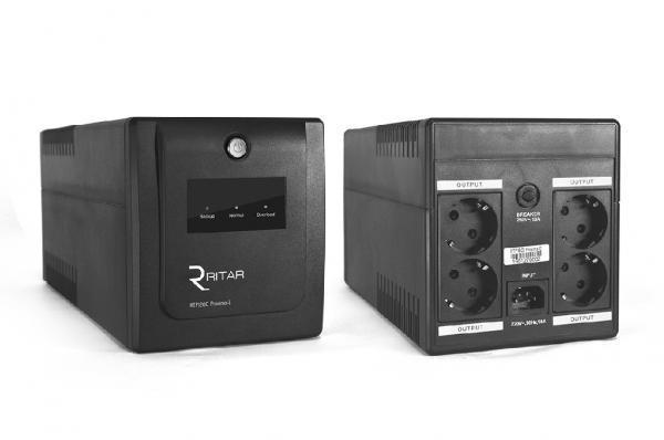 ИБП (UPS) Ritar RTP1000 (600W) Proxima-D, LED, AVR