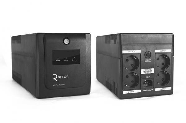 ИБП (UPS) Ritar RTP1000 (600W) Proxima-D, LED, AVR, фото 2
