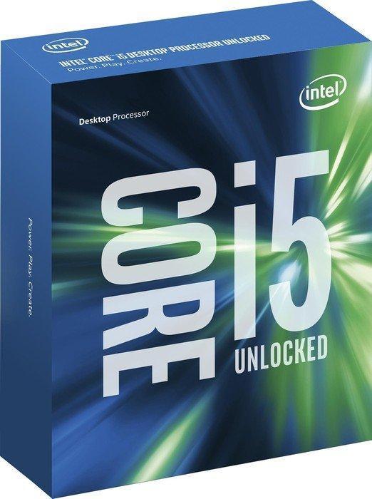 Процессор Intel Core i5 (LGA1151) i5-6600K, Box