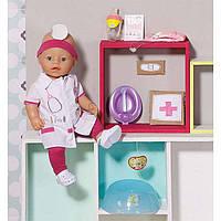 Кукла BABY BORN - ДОКТОР (43 см, с чипом и аксессуарами)