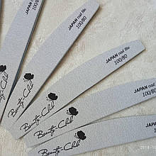 Пилочка для нігтів Beauty Club 80\100 - Дуже довгограюча японська папір! Супер якість