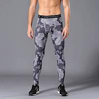 Чоловічі футболки для бодібілдингу, MMA, єдиноборств, темно-сірий камуфляж