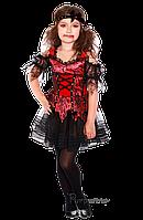 Детский карнавальный костюм для девочки ВАМПИРША код 2087 30