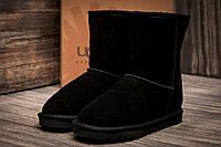 Зимние угги на меху Ugg Australia, черные (3200-1),  [  34 35 37  ]