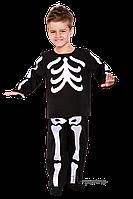 Детский карнавальный костюм СКЕЛЕТ код 2069 34